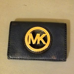 Michael Kors Leather Card Wallet